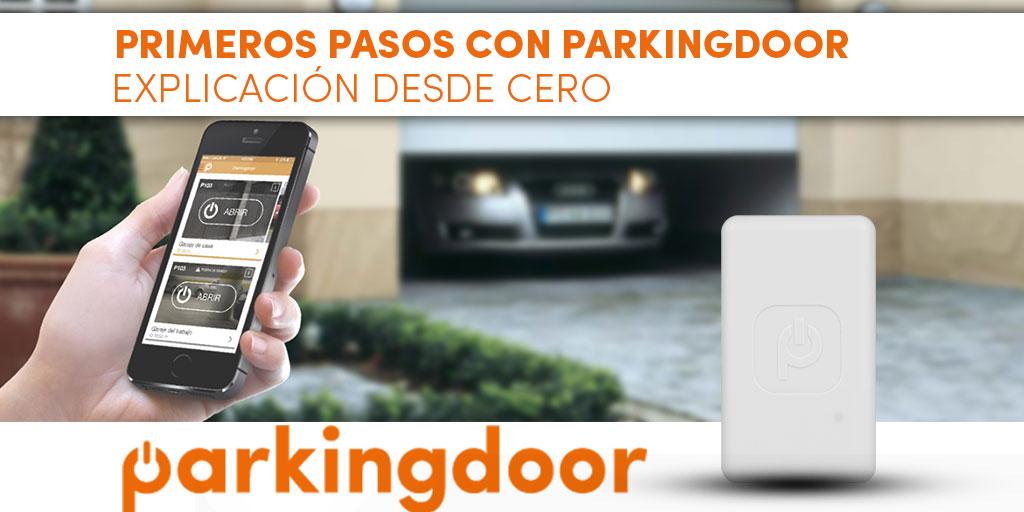 Primeros pasos con Parkingdoor