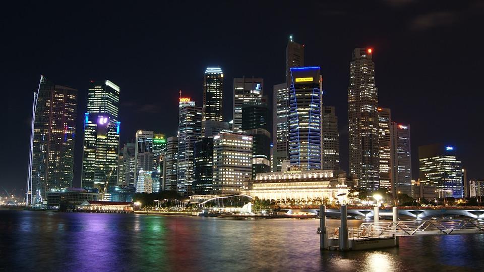 Singapur, ciudades inteligentes, rascacielos