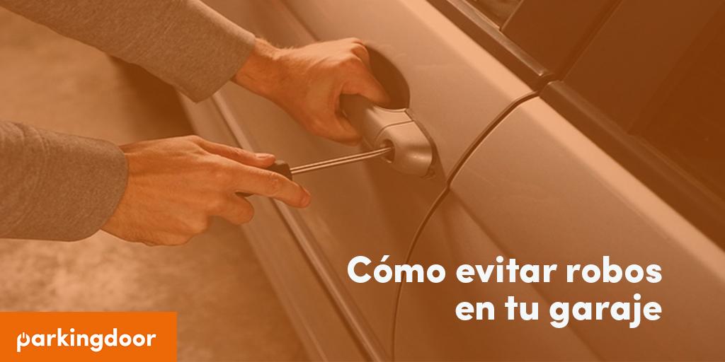 coche, robo, garaje