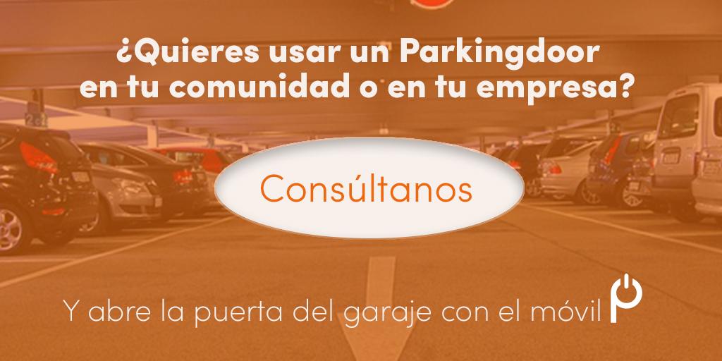 Parkingdoor, comunidades, vecinos, building