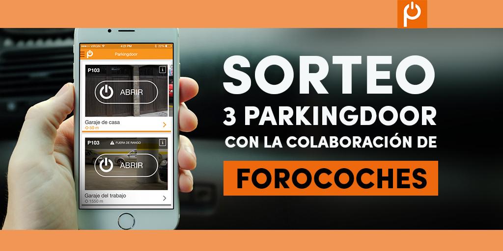 sorteo, forocoches, Parkingdoor
