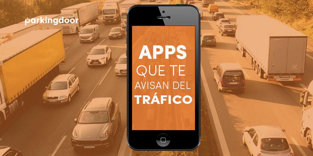 apps, tráfico, parkingdoor