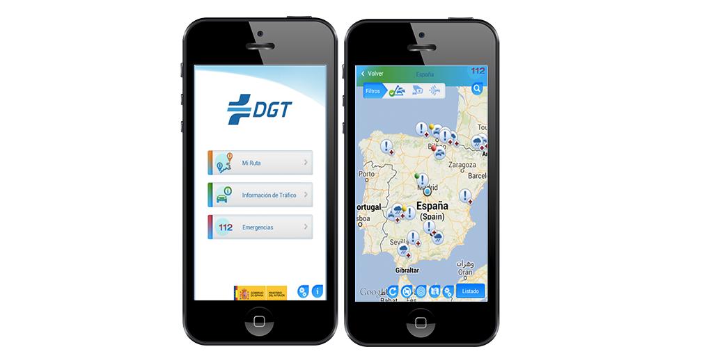 DGT, apps, coches, tráfico