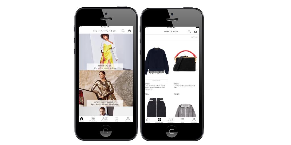 Apps, moda, Net-a-porter