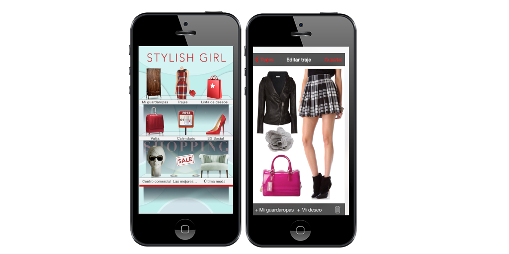 apps, moda, stylish girl
