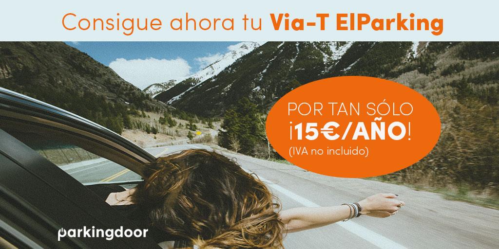 Via-T ElParking. Paga en autopistas sin detenerte y obtén descuentos en peajes y parkings