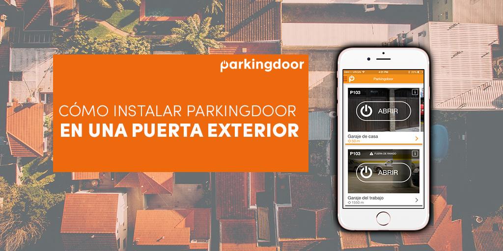 Parkingdoor puerta exterior