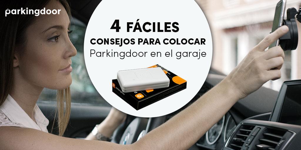 Consejos para colocar tu Parkingdoor en el garaje