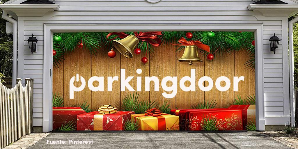 Día de reyes Parkingdoor